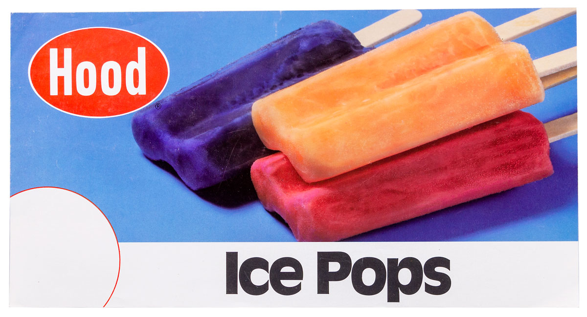 Soda & Ice Cream Lithograph Posters - Hood Ice Pops