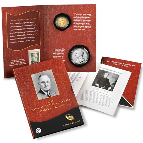 2015 Harry Truman Coin and Chronicles Set GEM OGP