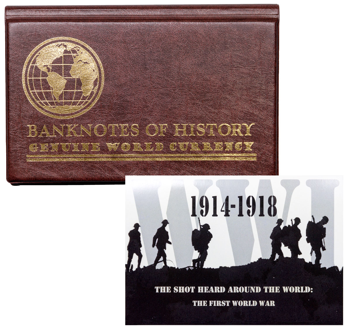 Shot Heard Round the World: WWI 6 Banknote Collection
