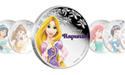 Rapunzel Disney Princess Silver Coin