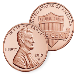 U.S Mint to Treat Collectors with First Ever 2019-W Lincoln Cent!
