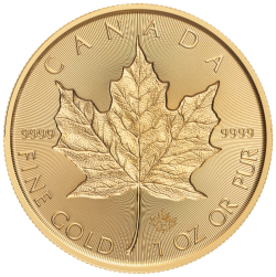 Introducing the 2019 Canada 1 oz. Gold Incuse Maple Leaf Gem BU