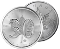 Silver Maple Leaf's 30th Anniversary Marked with Two Special Coins
