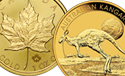 2015 World Gold Bullion Coin Overview