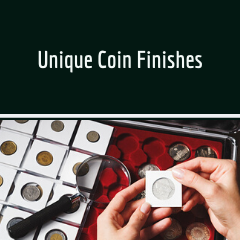 Unique Coin Finishes