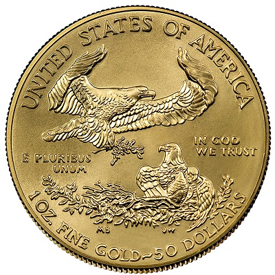 American Gold Eagle Design