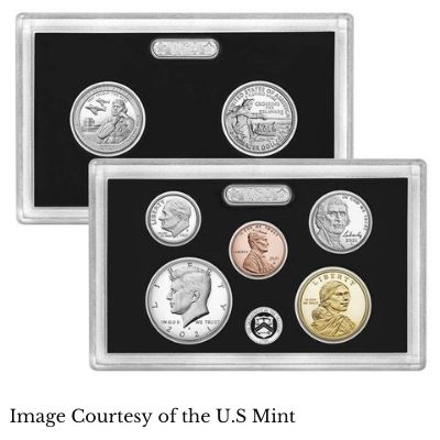 U.S. Silver Proof Coins Struck in San Francisco