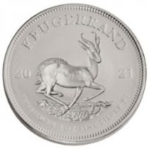 2021 South Africa Silver Krugerrand Brilliant Uncirculated Coins