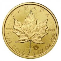 2021 Canada Gold Maple Leaf Brilliant Uncirculated Coins