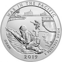 2019 5 oz. Silver ATB War in the Pacific National Historic Park Coins
