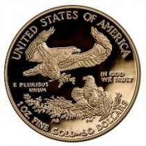 2021 American Gold Eagle Proof Coins with Family of Eagles Reverse Design