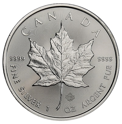 2020 Canada Silver and Gold Maple Leafs