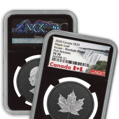 NGC Certified with First Releases Designation
