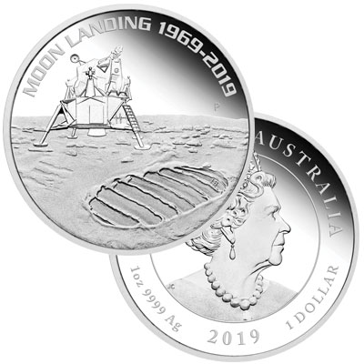 Perth Mint Apollo 11 Commemoratives