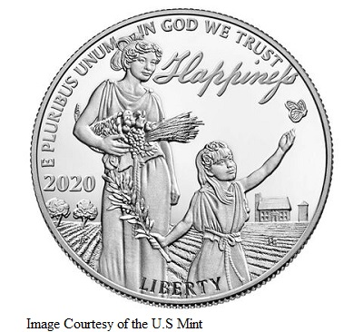 Preamble to the Declaration of Independence-Pursuit of Happiness- 2020 Platinum Proof Coin