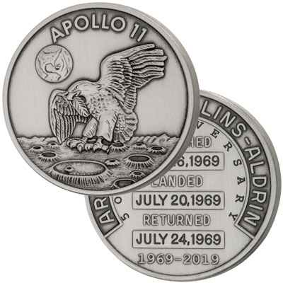 Apollo 11 50th Anniversary Robbins Medals