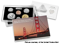 2018-S San Francisco Mint Silver Reverse Proof Set