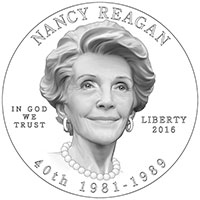 2016 Nancy Reagan First Spouse Gold Coins