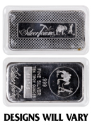 Private Mint Generic 10 oz Silver Bar