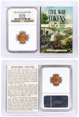 (1861-1865) United States Our Army Civil War Token NGC MS65 RB In Story Vault Holder