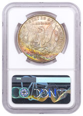 1889 Morgan Silver Dollar Toned NGC MS63 CPCR 5021