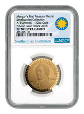 1903 United States Morgan Treasury 1/2 oz Gold Proof Pattern Scarce and Unique Coin Division NGC PF70 UC