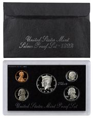 1992-S U.S. Silver Proof Coin Set GEM Proof OGP