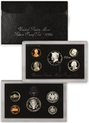 1995-S U.S. Silver Proof Coin Set GEM Proof OGP