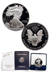 2000-P Proof American Silver Eagle (OGP)