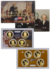 2008-S U.S. Presidential Dollar Proof Set GEM Proof OGP