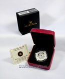 2013 Canada 1/2 Oz Silver Lunar Year of the Snake - Coiled Snake $10 In Original Canadian Mint Packaging