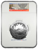 2013 5 Oz America The Beautiful White Mountain National Park NGC MS68 DPL FR Mint State 68 Deep Prooflike First Releases