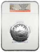 2013 5 Oz America The Beautiful White Mountain National Park NGC MS69 DPL FR Mint State 69 Deep Prooflike First Releases
