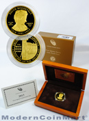 2013-W Edith Roosevelt $10 First Spouse Gold Gem Proof in Original Government Packaging OGP