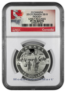 2013 Canada 1/2 Oz Silver Hockey - O Canada Series $10 NGC PF70 ER Matte Proof 70 Matte Early Releases ***EXCLUSIVE LABLE***