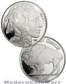 2013 American Indian - Buffalo 1 Troy Oz .999 Fine Silver Round