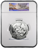 2013 5 Oz Silver America the Beautiful Mt Rushmore 25c NGC MS69 DPL FR Mint State 69 Deep Proof Like First Releases