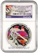 2013-P Australia Proof 1 oz Silver The Land Down Under - Didgeridoo $1 NGC PF69 UC ER Proof 69 Ultra Cameo Early Releases ***EXCLUSIVE LABEL***