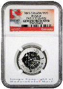 2013 Canada Hockey Coin $20 Silver NGC Specimen Gem Uncirculated Early Releases ***EXCLUSIVE LABLE***