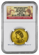 2013-W Ida McKinley $10 First Spouse Gold NGC MS70 ER Mint State 70 Early Releases