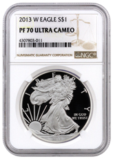 2013-W Proof American Silver Eagle NGC PF70 UC