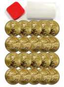 Roll of 20 - 2014 $50 1 Oz Gold American Eagle GEM Brilliant Uncirculated ***PRE-ORDER REQUEST***