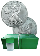 2014 1oz. Silver Eagle GEM Brilliant Uncirculated - Mint Sealed 500 count Monster Box ***PRE-ORDER REQUEST***