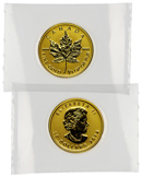 2014 Canada 1/4 Oz .9999 Gold Maple Leaf $10 Gem Brilliant Uncirculated