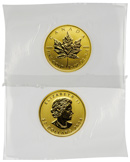 2014 Canada 1/2 Troy Oz .9999 Gold Maple Leaf $20 Coin - RCM Sealed
