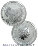 2014-P Australia 1 Kilo (32.15Oz) .999 Silver Koala $30 Coin in Original Perth Mint Capsule