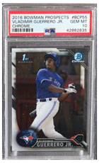 2016 Bowman Prospects Vladimir Guerrero Jr PSA 10 Chrome (Rookie Card)