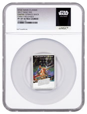 2017 Niue Star Wars Posters - The Empire Strikes Back 1 oz Silver Colorized Proof $2 Coin NGC PF69 UC ER Exclusive Star Wars Label