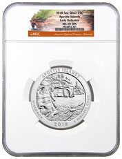 2018 Apostle Islands 5 oz. Silver America the Beautiful Coin NGC MS69 DPL ER