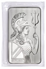 Royal Mint Britannia 10 oz Silver Bar
